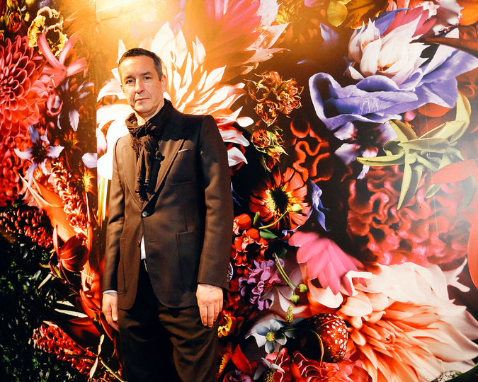 The-designer-Dries-Van-Noten-at-his-exhibition-Inspirations.-Erin-Baiano-for-The-New-York-Times